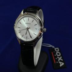 Ceas Doxa 1889 - 211.15 (0006) - Ceas dama Doxa, Elegant, Quartz, Inox, Piele, Data