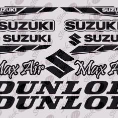 Suzuki - Kit_Sticker Moto_Tuning_MDEC-045-Dimensiune: 35 cm. X 23.8 cm. - Orice culoare, Orice dimensiune - Folii Auto tuning