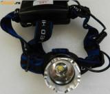 Lanterna de cap LED Cree XML-T6 Frontala cu Lupa