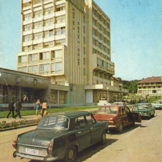 Carte postala CP SJ002 Zalau - Hotel Poroloissum