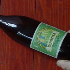 Sticla de bere din perioada comunista - Eticheta originala - Bere Banovita !!!