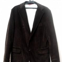 Sacou ZARA MAN. Marimea M. Model vintage. VEDETI POZELE! - Sacou barbati Zara, Marime: M, Culoare: Maro
