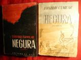 Eusebiu Camilar - Negura -1949-50 vol.I si II - Prima Editie-Ed. de Stat