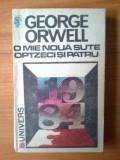 D7 O mie noua sute optzeci si patru - George Orwell, 1991, George Orwell