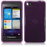 Husa Z10 Blackberry Protectie spate silicon, Blackberry Z10, Mov