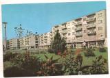#carte postala(ilustrata)-VRANCEA-Marasesti-Piata Garii