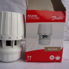 Robinet cu cap termostat DanFoss RA CLICK - Termostat ambient, Pentru calorifer, Mecanic
