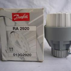Robinet cu cap termostat DanFoss RA 2920 - Termostat ambient, Pentru calorifer, Mecanic