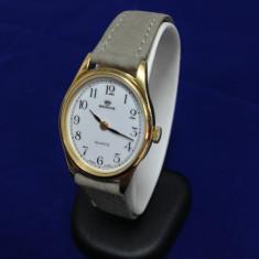 Ceas de aur Berios - 8005-D (0111) - Ceas dama, Elegant, Quartz, Piele, Analog