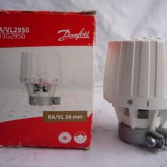 Robinet cu cap termostat DanFoss RA VL26 - Termostat ambient, Pentru calorifer, Mecanic