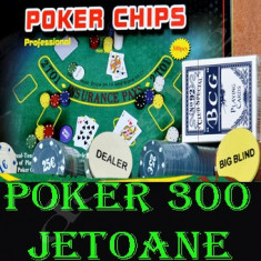 SET DE POKER JOC DE POKER 300 JETOANE - Set poker