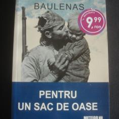 LLUIS ANTON BAULENAS - PENTRU UN SAC DE OASE - Roman, Anul publicarii: 2010