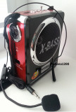 Radio Boxa Portabila Waxiba MP3 player redare stick USB si card SD + Lanterna