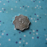 JN. 5 laari 1990 Maldives