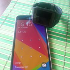 Samsung Galaxy S5 + Galaxy Gear 2 Neo - Telefon mobil Samsung Galaxy S5, Negru, 16GB, Neblocat, Single SIM