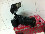 Aparat foto Marca NIKON cu Obiectiv 28-200mm si Blit, Peste 16 Mpx, Peste 20x