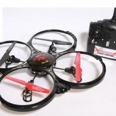 ULTIMA DRONA APARUTA! AIRFUN 909AF 6 AXE, GYRO, TEHNOLOGIE 2.4GHZ, LEDURI SMD, KIT PREINSTALARE CAMERE VIDEO/FOTO.