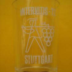 Pahare din sticla .....deosebite
