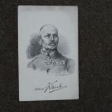 FELDPOST WW1 GERMANIA GENERALUL LUDENDORFF - Fotografie veche