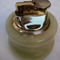 Bricheta din onix - functionala, neincarcata - Bricheta Zippo, De masa