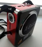 Radio Boxa,MP3,USB si card SD Rosie + Lanterna incorporata