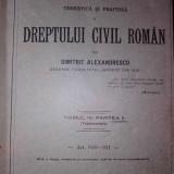 Drept civil roman - Carte Drept civil