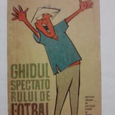 Ghidul spectatorului de fotbal - Petre Gatu (desene de Matty) / C37P - Carte sport