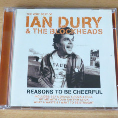 Ian Dury and the Blockheads - Reasons to Be Cheerful (CD) - Muzica Rock emi records