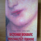 w0c Dictionar biografic de personalitati feminine - Maggy Hendry, Jenny Uglow