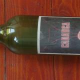Sticla din perioada comunista - eticheta originala - sticla de vin Cadarca !!!
