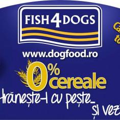 Hrana Caini Fish4Dogs !, Uscata
