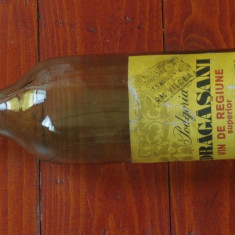 Sticla din perioada comunista - eticheta originala - sticla de vin Podgoria Dragasani - vin de regiune superior !!!
