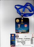 Acreditare + bilet meci fotbal ASTRA Giurgiu - RED BULL Salzburg (Europa League 02.10.2014)