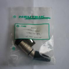 MUFE XLR NEUTRIK NC3FX - Mufa