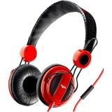 Casti BUMBLEBEE APBUMBLEBEE3 AUDIOPRO RED Stereo Cellular Line, Casti On Ear, Cu fir, Mufa 3,5mm, Sony