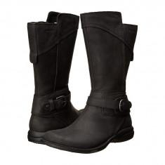 Boots femei Merrell Captiva Buckle-Down Waterproof | 100% originals | Livrare cca 10 zile lucratoare | Aducem pe comanda orice produs din SUA - Cizma dama Merrell, Negru