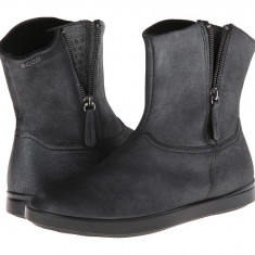 Boots femei ECCO Aimee Pull On Boot | 100% originals | Livrare cca 10 zile lucratoare | Aducem pe comanda orice produs din SUA - Cizma dama Ecco, Gri