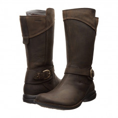 Boots femei Merrell Captiva Buckle-Down Waterproof | 100% originals | Livrare cca 10 zile lucratoare | Aducem pe comanda orice produs din SUA - Cizma dama Merrell, Maro