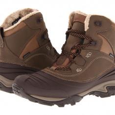 Boots femei Merrell Snowbound Mid Waterproof | 100% originals | Livrare cca 10 zile lucratoare | Aducem pe comanda orice produs din SUA - Cizma dama Merrell, Maro
