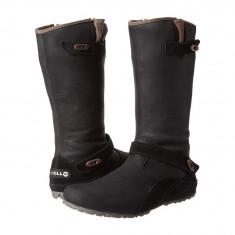 Boots femei Merrell Haven Autumn | 100% originals | Livrare cca 10 zile lucratoare | Aducem pe comanda orice produs din SUA - Cizma dama Merrell, Negru