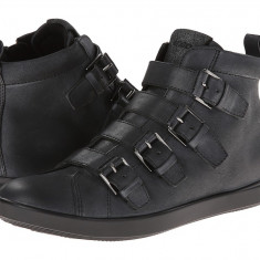 Pantofi sport femei ECCO Aimee Buckle Boot | 100% originals | Livrare cca 10 zile lucratoare | Aducem pe comanda orice produs din SUA - Gheata dama Ecco, Negru