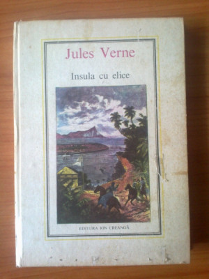 e4  Insula cu elice - Jules Verne foto