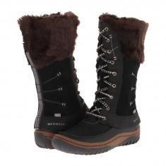 Boots femei Merrell Decora Prelude Waterproof | 100% originals | Livrare cca 10 zile lucratoare | Aducem pe comanda orice produs din SUA - Cizma dama Merrell, Negru