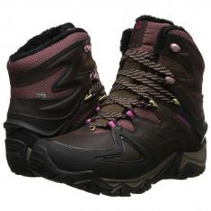 Boots femei Merrell Polarand 8 Waterproof | 100% originals | Livrare cca 10 zile lucratoare | Aducem pe comanda orice produs din SUA - Gheata dama Merrell, Negru