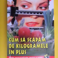 CUM SA SCAPAM DE KILOGRAMELE IN PLUS Diete pentru slabire Damien Galtier - Carte Dietoterapie