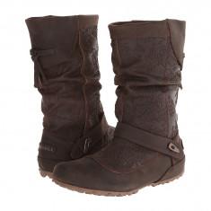 Boots femei Merrell Haven Pull | 100% originals | Livrare cca 10 zile lucratoare | Aducem pe comanda orice produs din SUA - Cizma dama Merrell, Maro