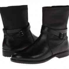 Boots femei ECCO Touch 15 Buckle Boot | 100% originals | Livrare cca 10 zile lucratoare | Aducem pe comanda orice produs din SUA - Cizma dama Ecco, Negru