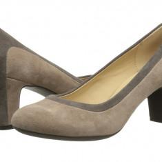 Pantofi cu toc femei Geox D Marie Claire Mid | 100% originals | Livrare cca 10 zile lucratoare | Aducem pe comanda orice produs din SUA - Pantof dama Geox, Cu talpa joasa