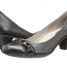 Pantofi cu toc femei ECCO Touch 50 Buckle | 100% originals | Livrare cca 10 zile lucratoare | Aducem pe comanda orice produs din SUA - Pantof dama Ecco, Cu talpa joasa