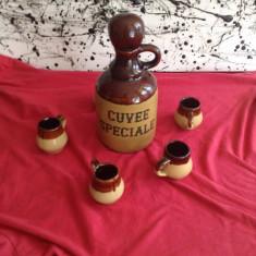Frumos set pentru tarie din ceramica !!!